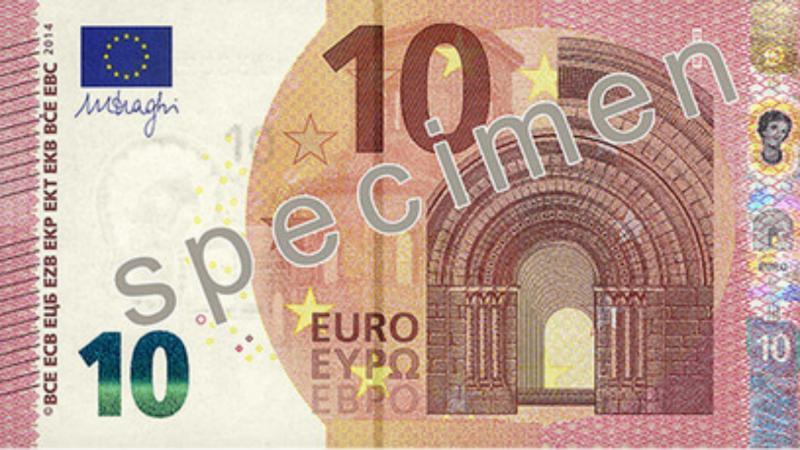 Nieuw € 10,- biljet na zomer 2014