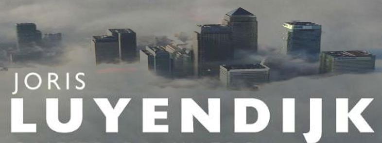 Joris Luyendijk legt gevaren bankierswereld bloot